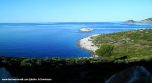 Coastline on Island of Lastovo