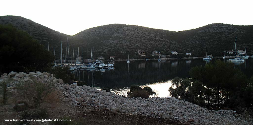 Evening Colours in Skrivena Bay, Lastovo Island