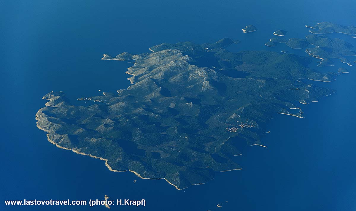Flying Over Lastovo Island