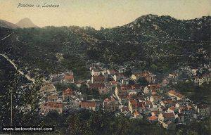Lastovo village in 1918