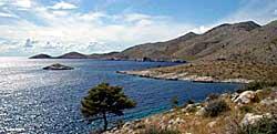 lastovo coast