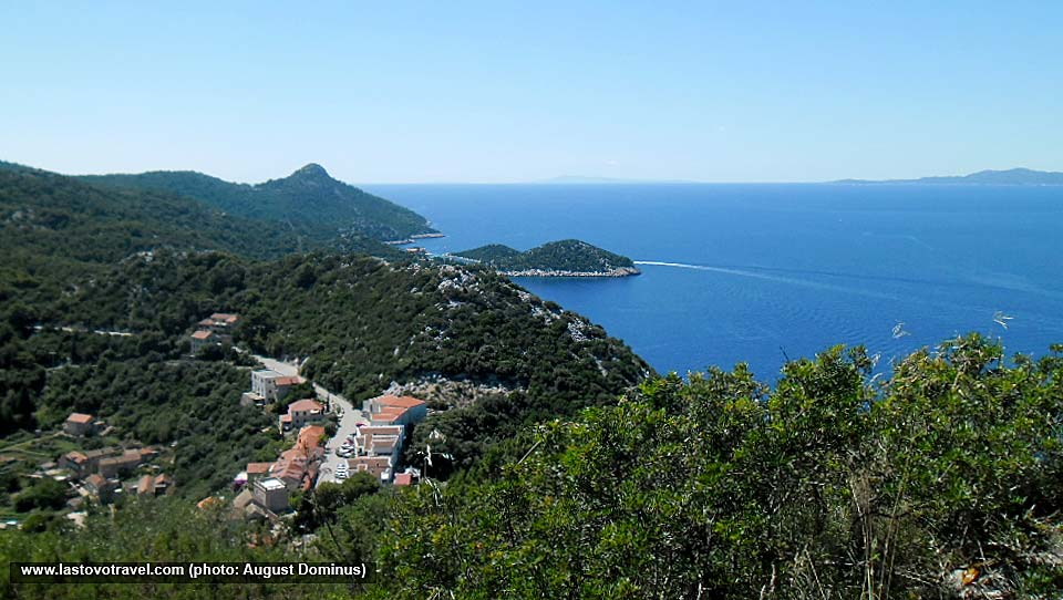 Views over Pjevor (Lastovo) and the archipelago
