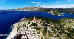 Portorus, Skrivena Luka and Struga Lighthouse, Lastovo