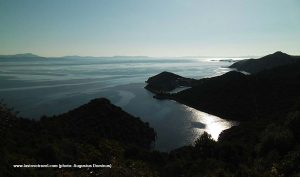 Archipelago panorama with Zaklopatica bay , Lastovo Island
